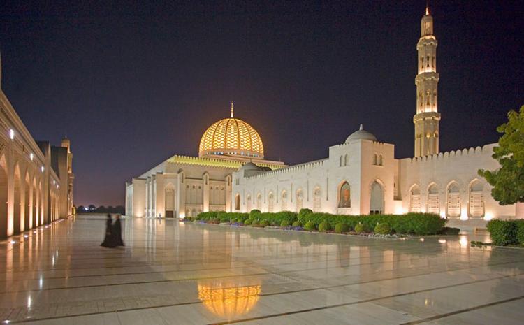 مسجد سلطان قابوس در شهر مسقط كشور عمان